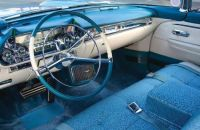 1957 Cadillac Eldorado Brougham blue dash