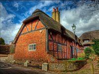 "Cliddesden."" The Little House 1349"". Hampshire. UK."