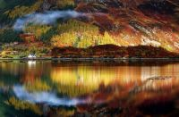 Autumn colours in the Highlands of Scotland