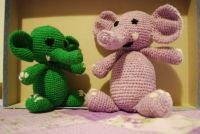 crochet elephants / háčkovaní sloni