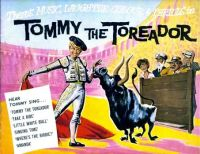 TOMMY THE TOREADOR - 1960 PRESSBOOK - TOMMY STEELE
