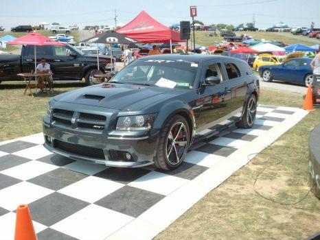 2008 Dodge Magnum Srt8 Steel Blue Car 29 Of 29 Built 130 Pieces