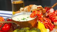 Lobster Lager Cheese Fondue