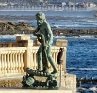 Bird Rock - Neptune Statue