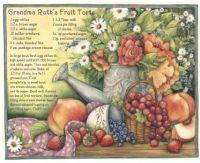Grandma Ruth's Fruit Tort