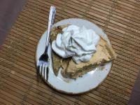 Home made Pumpkin Cheesecake