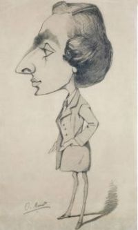 Claude Monet - Caricature of a Young Man, 1857 (May17P01)
