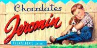 Themes Vintage ads - Chocolates Jeromin