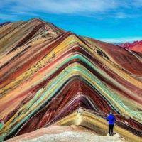 Vinicunca, Montaña de Colores or Rainbow Mountain in Peru 4