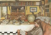 "Carl Larsson, ""The Reading Room"", 1909"