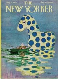 The New Yorker - August 10, 1968 / cover art by Misha Richter