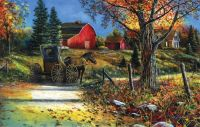 Country Roadside by Jim Hansel