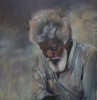 *1.  ~  Painting of a Grey Man.