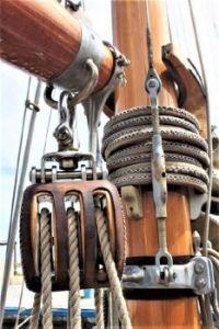 1897 Summers & Payne Ketch Sailing Ship