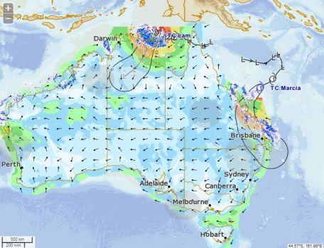 Tropical Cyclone Marcia...