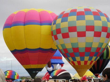 More balloons at Albuquerque Balloon Festival
