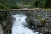 Old bridge in Lærdal - Norway