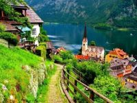 Beautiful village of Hallstatt - Austria