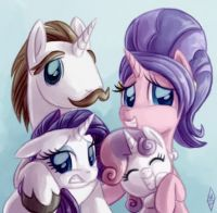 MLP: Fabulous Family Portrait by Whitediamondsltd