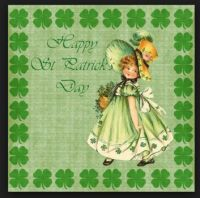 Vintage St. Patricks Day card