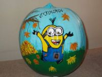 Pumpkins I've Painted For The Kiddos Throughout The Years (#4)