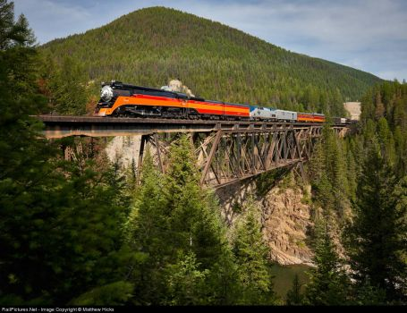 160-Montana, Whitefish-Southern Pacific