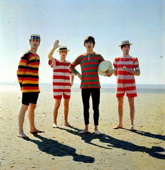 Beatles at beach