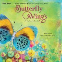 Brush Dance 2020 Wall Calendar Butterfly Wings