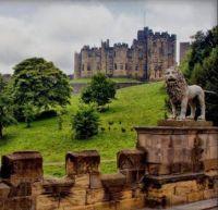 Alnwick Castle, England.  6090