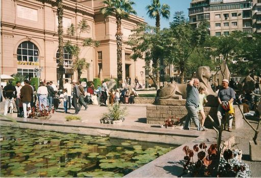 Egypt-national museum in Cairo