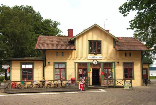 Former train station, Askersund, Sweden