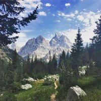 Cascade canyon trail, Grand Teton National Park