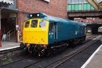25279 Sits at Bury  East Lancs railway
