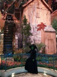 Me (Wicked Witch Of The West) at the Bellagio 10/26/13