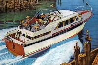 Themes vintage illustrations/pictures - Yacht