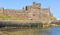 Peel Castle, Isle of Man.