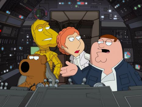 Star Wars Family Guy