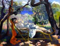 The Nap (The Rocking Chair) -  Henri Manguin