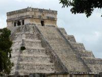 MEXICO – Yucatan – Chichen Itza – El Castillo (Temple of Kukulcan)