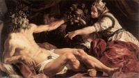 Abraham Janssens (Flemish, 1575–1632), Scaldis and Antwerpia (1609)