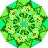 green mandala S