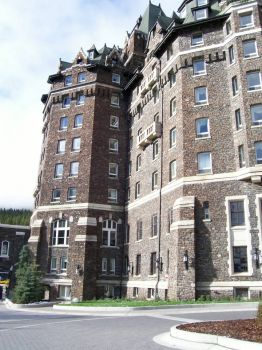 I hear it is haunted, Banff, Alberta