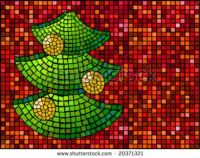 Christmas Tree Mosaic