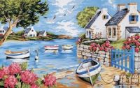 ON A COVE IN BRITTANY