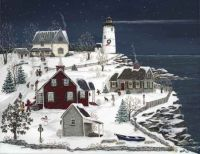 Christmas Party at the Lightkeeper's House