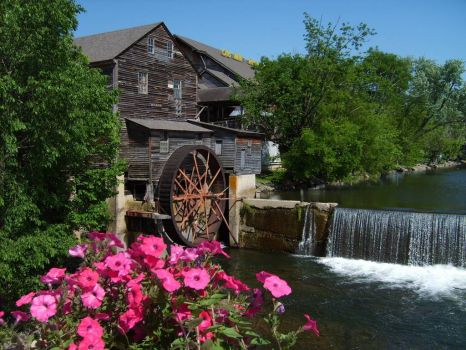 Old Mill at Pigeon Forge, Tennessee