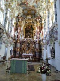 Kostel v Bavorsku.