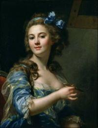 Marie-Gabrielle Capet - Self-Portrait ca. 1783