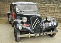 oldtimer Citroën...