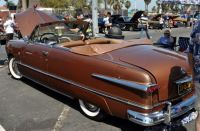 1951 Ford Convertible Bronze optional red eagle hood ornament